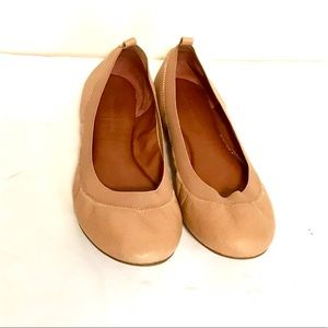 Banana Republic soft leather ballet flats